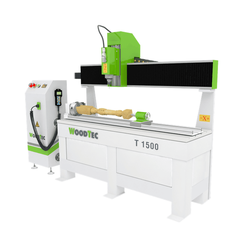 WoodTec T 1500 Токарно-фрезерный станок с ЧПУ Woodtec Фрезерные станки с ЧПУ Для производства мебели