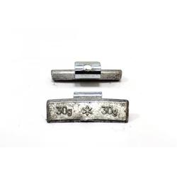 30гр Груз балансировочный Pb (литой диск), коробка 100шт Автобаланс Грузики балансировочные Расходные материалы