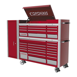 Сорокин 190.52 Шкаф инструментальный Standart, 12 отделений Сорокин Мебель металлическая Сервисное оборудование