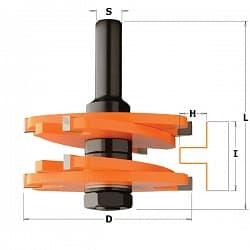 Фреза для шиповых соединений CMT Концевые Фрезы по дереву