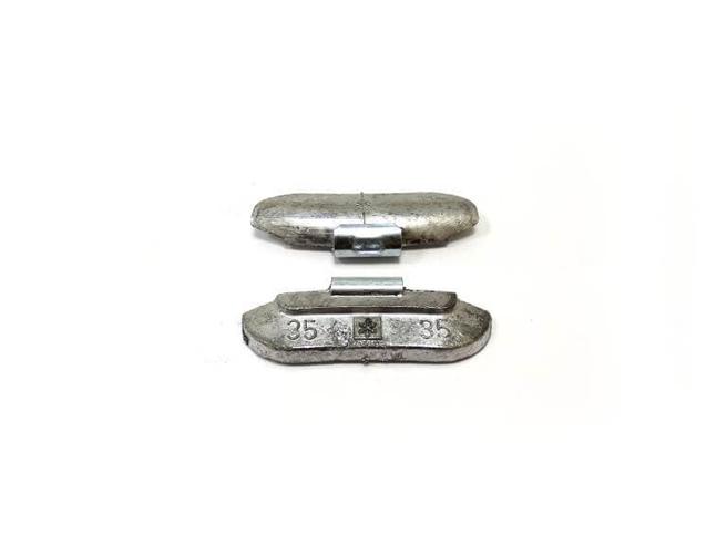 35гр Груз балансировочный Pb стандарт, коробка 100шт Автобаланс Грузики балансировочные Расходные материалы