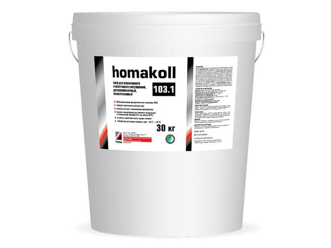 Homakoll 103.1 Клей для мембранно-вакуумного прессования полиуретановый Homakoll Клей для прессования Вакуумные прессы